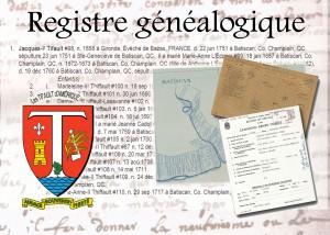 Registre généalogique