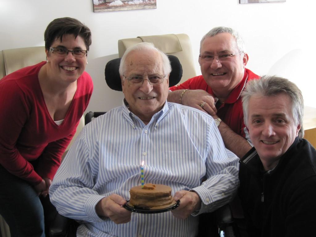 89e anniversaire de Paul-Émile