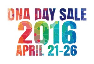 DNA Day Sale 2016