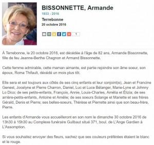 Armande Bissonette-AD