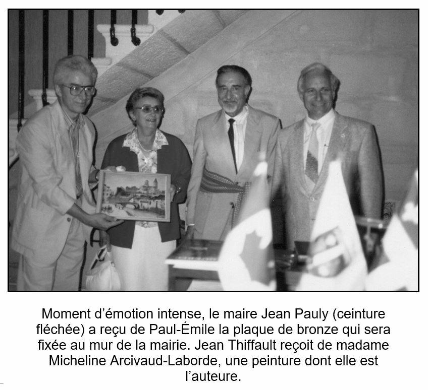 Micheline Laborde souvenir