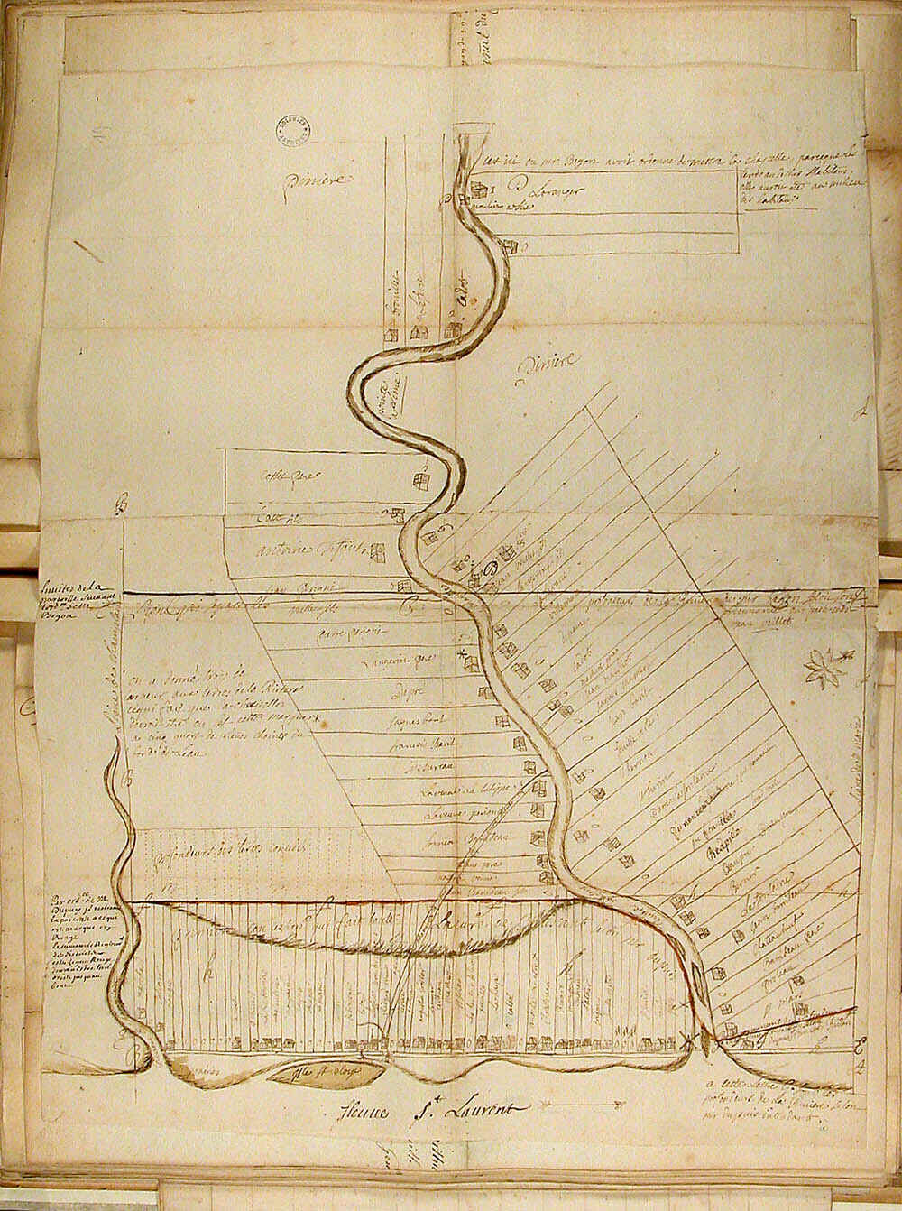 Plan cadastral 1725